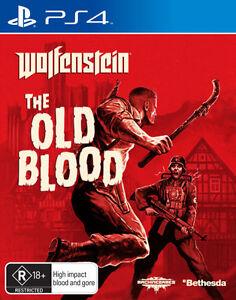 Wolfenstein The Old Blood  - PlayStation 4 game - BRAND NEW