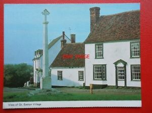 POSTCARD-ESSEX-VIEW-OF-GREAT-EASTON-VILLAGE