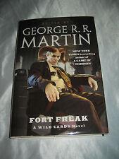Wild Cards Fort Freak edited George R R Martin Melinda Snodgrass SIGNED x5 2011