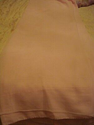Abile Signore/ragazze Giapponesi Crinkle Chiffon Rosa Baby Saree-mostra Il Titolo Originale
