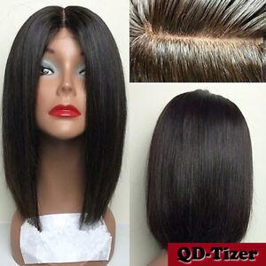 Details about Short Bob Haircut Full Lace