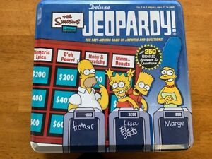 The-Simpsons-Deluxe-Jeopardy-2004-Game-In-Metal-Tin