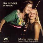 Ida Haendel in Recital (CD, Sep-2007, VAI Audio)
