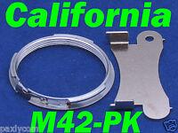 Pentax M42 42mm Screw To Pk K Mount Adapter Lens Ring Km, Kr K10d K100d Dc141