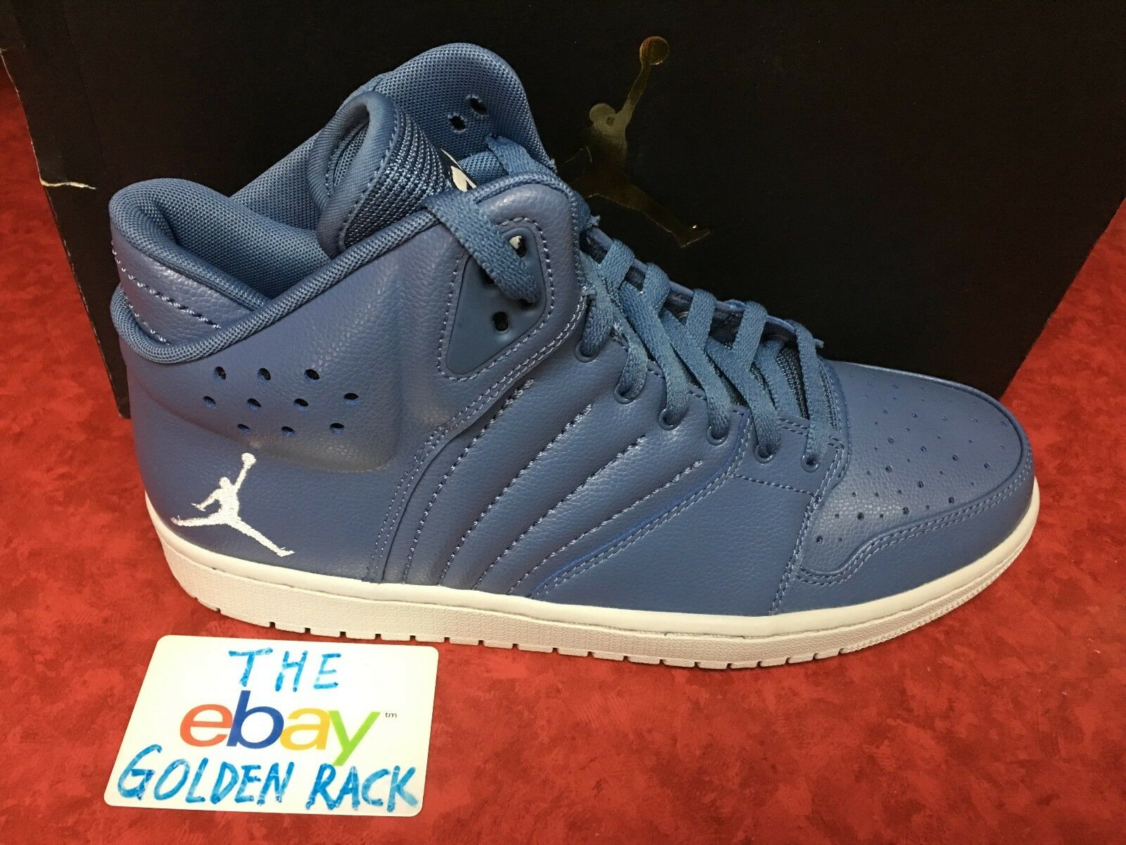 Air Jordan 1 Flight 4 Men's Hi Top  Trainers 820135 400 Ocean Fog Price reduction The most popular shoes for men and women