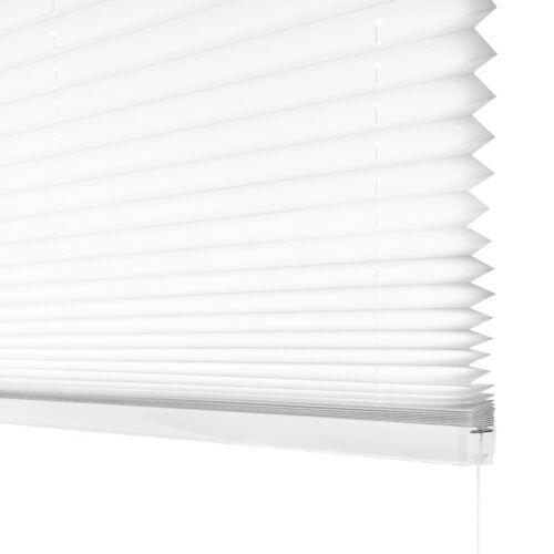 Plissee Sichtschutz Sonnenschutz  lange Haltbarkeit 4 Farben moderne Optik NEU