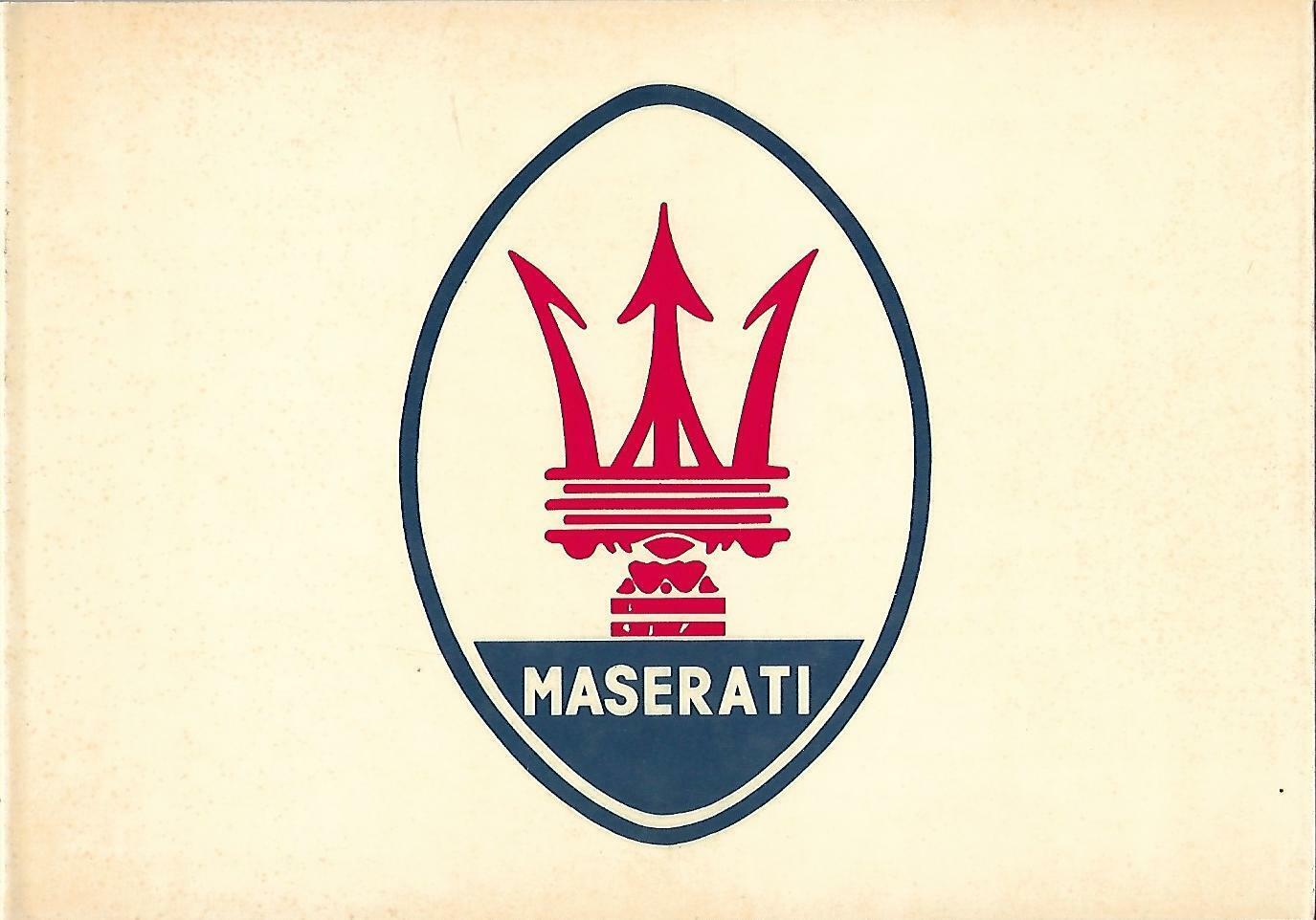 Libro - Tutta la storia della Maserati - vecchia collana AUTOMOBILIA n. 10 S-l1600