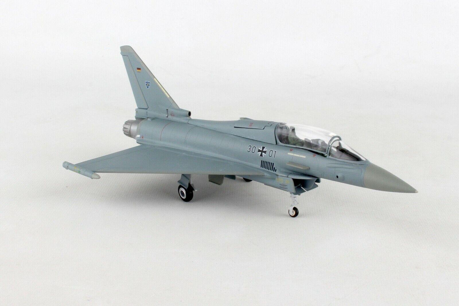 HE580397 Herpa Luftwaffe Eurofighter Typhoon 1 72 taktlwg 73 Steinhoff Die-Cast
