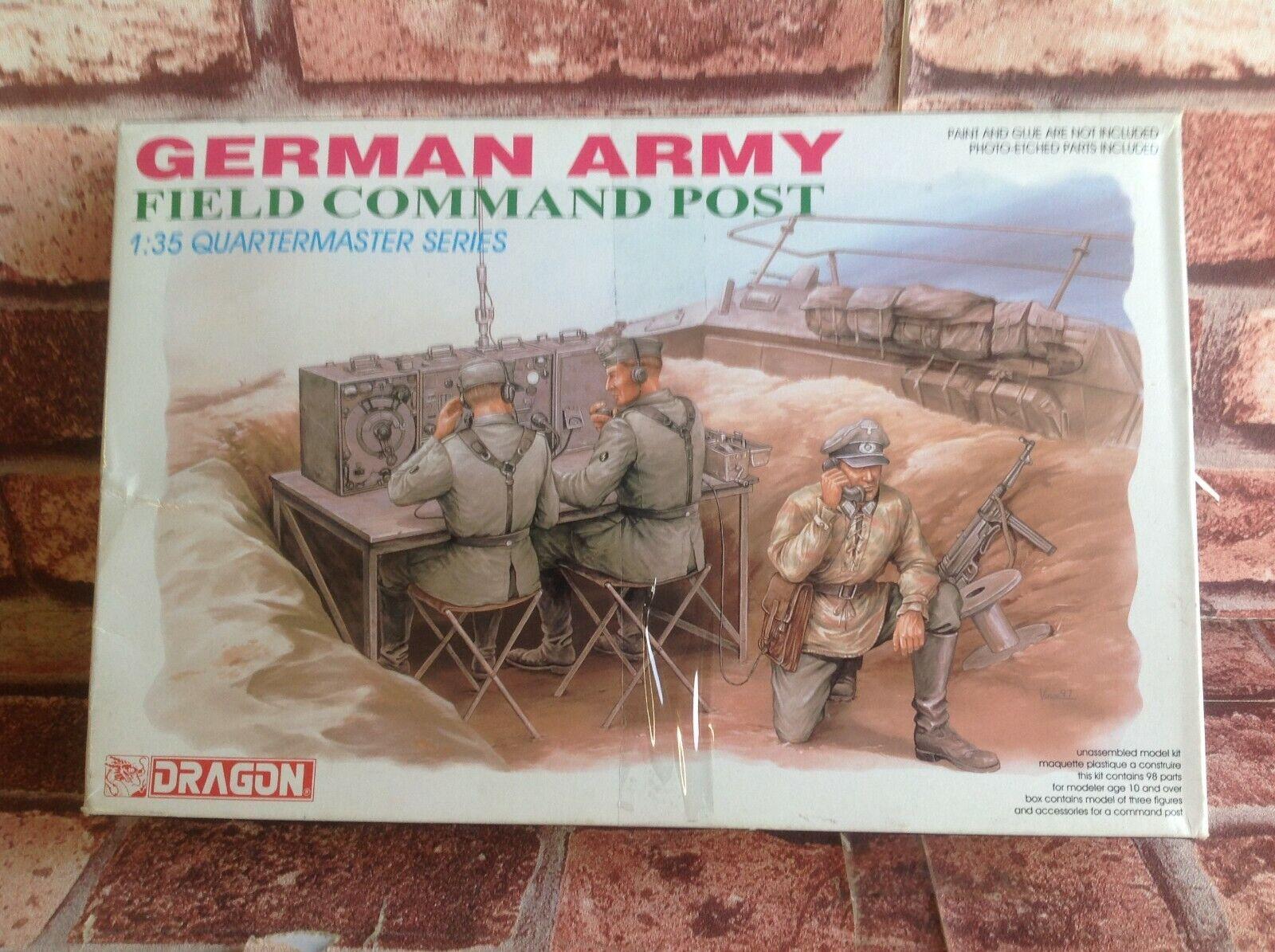 DRAGON 1 35 MODEL - GERMAN ARMY FIELD COMMAND POST - QUARTERMASTER SERIES
