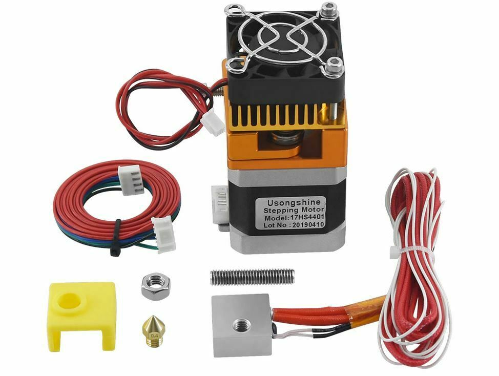 Kit Full Extruder MK8 With Motor Nema 17 17HS4401. Ideal Anet A8