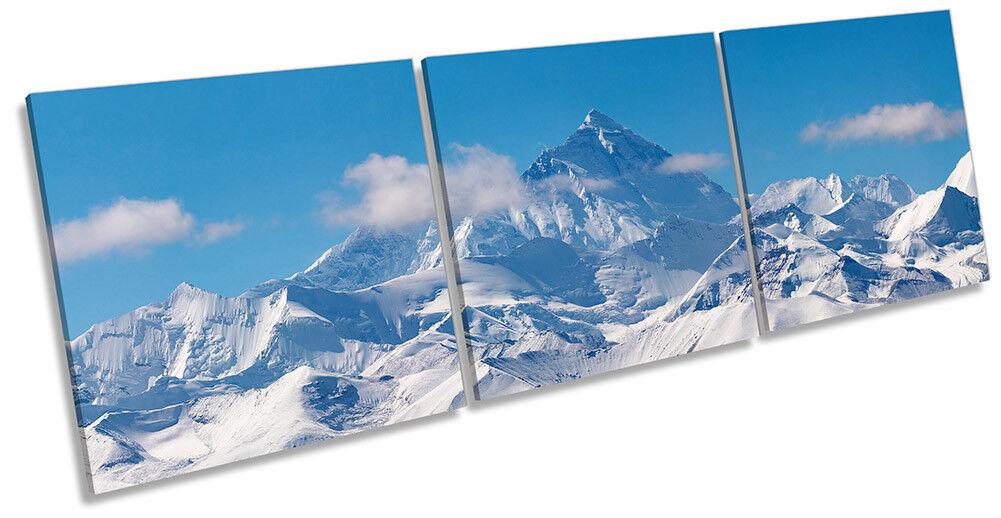 Monte Everest MONTAGNA ART. a Muro Immagine Stampa Triplo