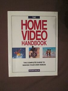 The-Home-Video-Handbook-by-Stuart-Dollin-Hardback-1992-Vintage-Book