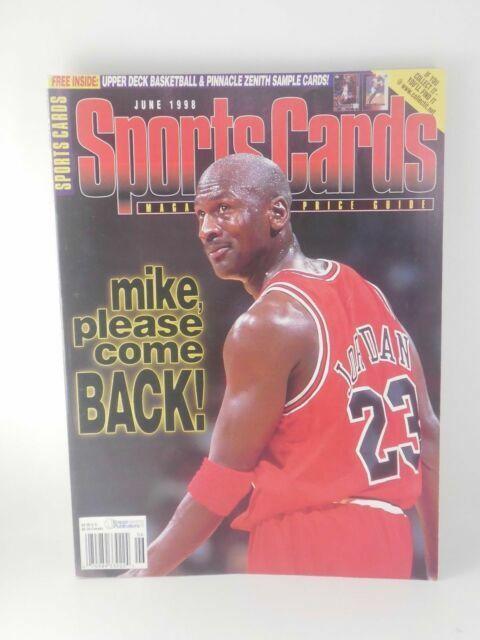 1998 Sports Cards Magazine Michael Jordan Chicago Bulls For Sale Online Ebay
