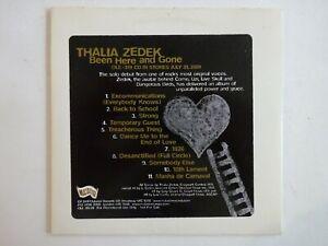 THALIA-ZEDEK-BEEN-HERE-AND-GONE-11-TITRES-CD-Album-Promo