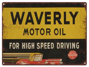 Red Indian Motor Oil Gas Vintage Look Advertising Metal Sign 9 x 12  60026