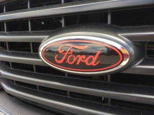 DECAL OVERLAYS Fits 2015 2016 2017 FORD F150 LIMITED ONLY Oval emblem STICKER