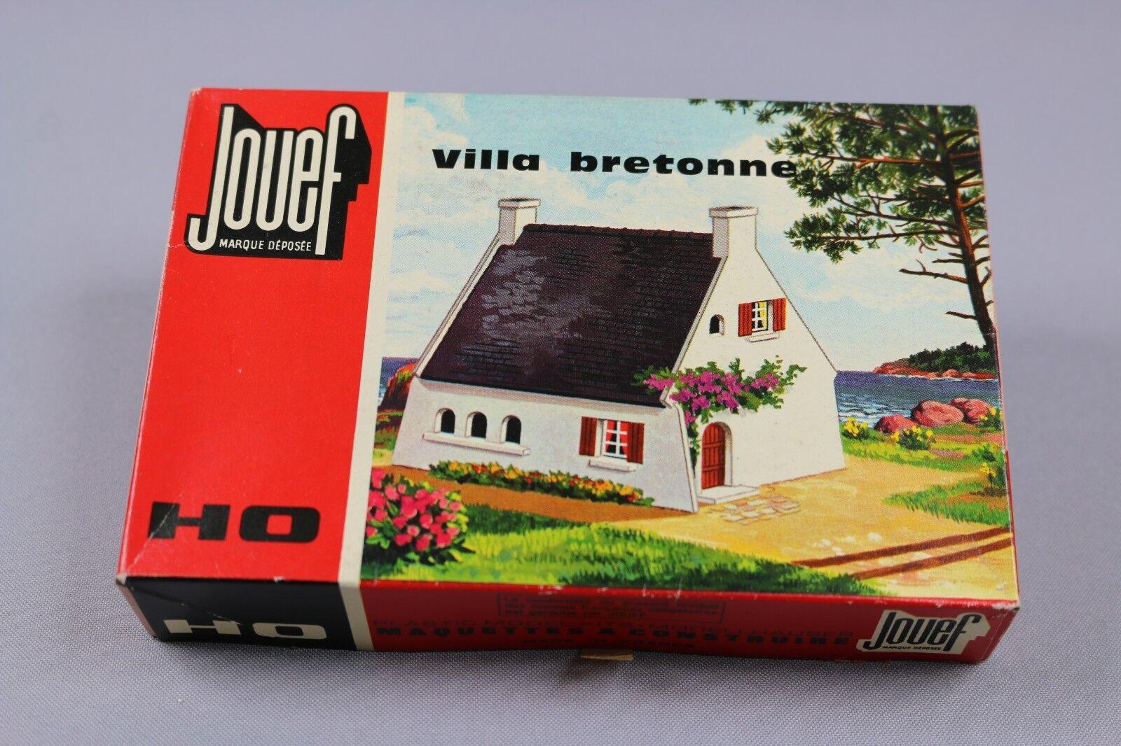 Z199 Jouef 1971 maquette train Ho 1:87 villa bretonne decor diorama maison kit