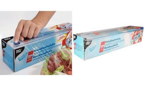 Breite PAPSTAR Frischhaltefolie in Faltschachtel 450 mm
