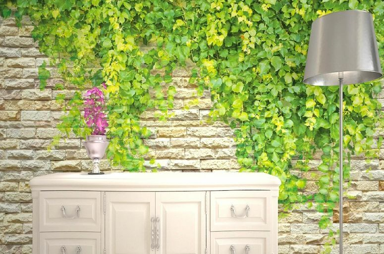 3D Grün vines wall 39WallPaper Murals Wall Print Decal Wall Deco AJ WALLPAPER