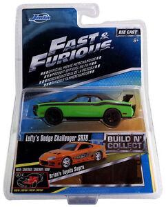 Jada-14026-W2-1-55-Scala-Fast-amp-Furious-Pressofuso-LETTY-039-S-Dodge-Challenger-Srt