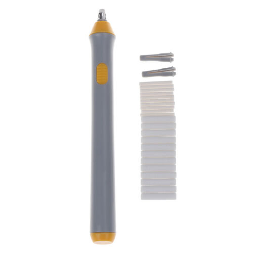 Electric Erasers Battery Operated Automatic Pencil Eraser Kit w// 22 Refills Gift