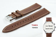 Timex Intelligent Quartz Flyback Chrono Watch T2N932 Brown Leather Strap