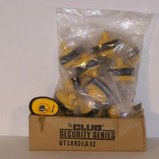 The Club Brand 12 Pack Keyed Alike Gun Trigger Lock-NEW