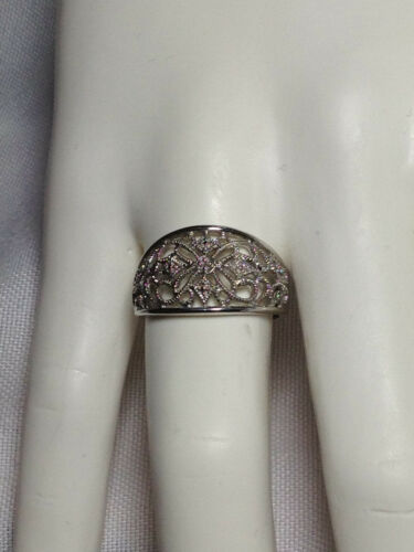 Lace Ring Sterling Silver Ornate Ring