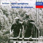 Britten: Cello Symphony; Sinfonia da Requiem (CD, Jun-1989, London)