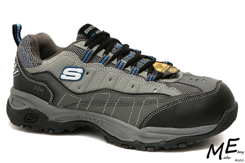 New Skechers Canyon - - Canyon Hobby Steel Toe Hiking Work Uomo Stivali Sz 7EW - 76785 673f66