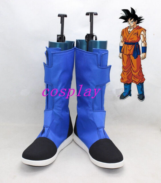 New Dragon Ball Z Trunks Cosplay Shoes Boots Custom Made AA.066