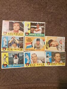 Topps Chicago Cubs 1960 s Baseball Cards 8 Cards Total
