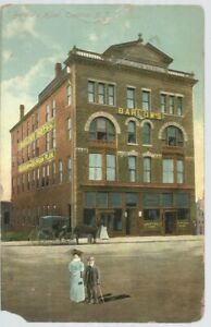 Postcard-1912-Barlow-039-s-Hotel-of-Trenton-NJ