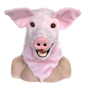Can-Move-Mouth-Pig-Mascot-Costume-Fursuits-Cosplay-Animal-Christmas-Adult-Unisex