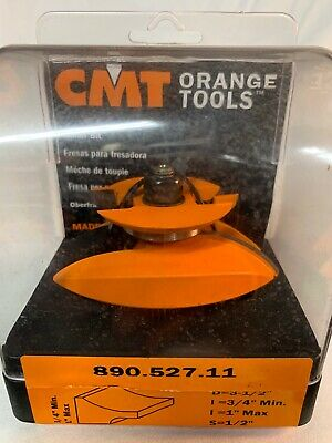 1//2-Inch Shank 3-1//2-Inch Diameter CMT 890.524.11 Raised Panel Bit With Backcutter