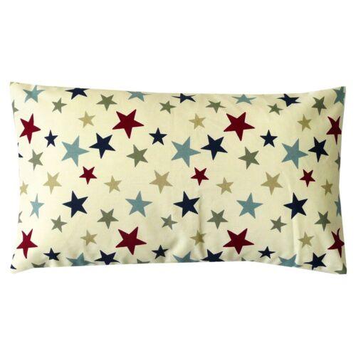 Belle vie Coussin Housse Funky stars étoiles 30x50cm