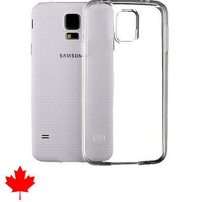 Samsung Galaxy S5 Case Crystal Clear Soft Transparent TPU Thin Soft SM-G900W8