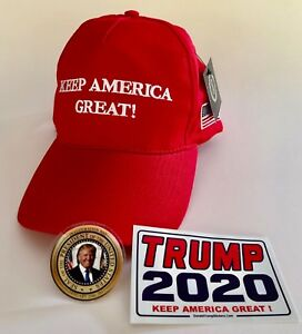 President-Donald-Trump-Hat-034-KEEP-AMERICA-GREAT-034-MAGA-Red-2-Decals