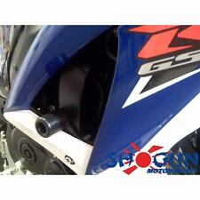 Suzuki 2008-10 GSXR600 GSXR 600 Shogun Frame Sliders No Cut Version Black