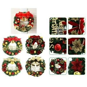 Wall Christmas Wreath Hanging Decoration Garland Spring Festival Holiday