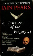 Iain Pears An Instance of the Fingerpost Paperback Book Berkely Penguin 1999
