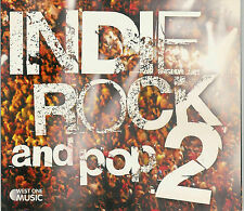 WEST ONE Music, WOM 185 - Indie Rock and Pop 2 /  NEUWARE, new 2009 Library Cd !