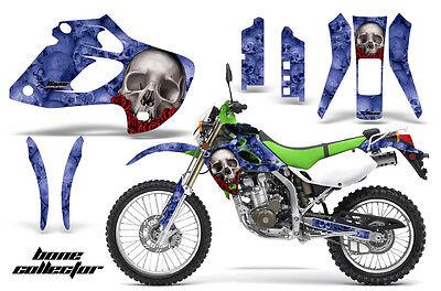 Dirt Bike Kit Grafica Decalcomania Adesivo Per Kawasaki Klx250 98-03 Bones Dolorante