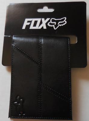 Fox Racing Sturgis Bifold Wallet Heather Gray//Black Unisex