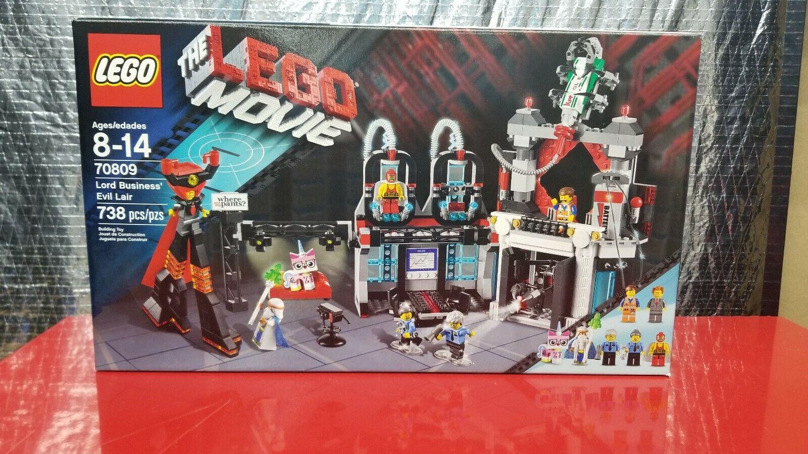 1 LEGO The LEGO Movie Set 70809  - Lord autobusiness' Evil Lair - nuovo, gratuito Shipping  risposte rapide