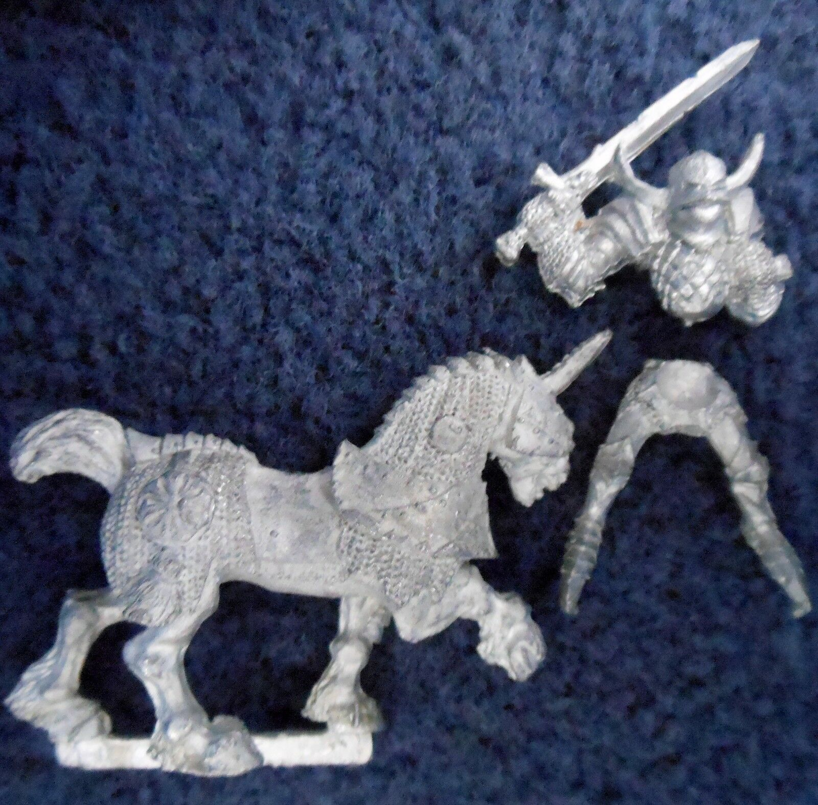 1988 Chaos Knight 0221 03 Games Workshop Warhammer Army Realm of Warrior Cavalry