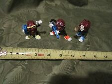 California Raisins Vintage Late1980's Lot of 3 Trumpet Horn Raido Music Gituar