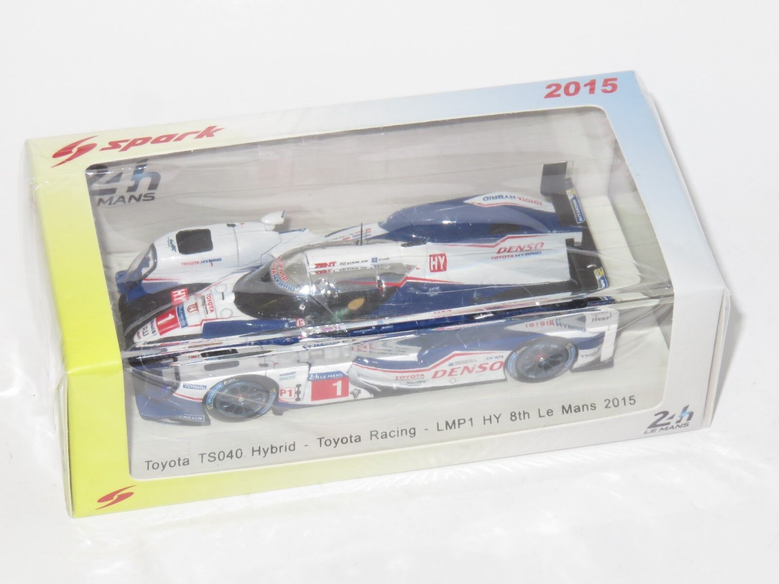 1/43 Toyota TS040 metal-níquel Denso Toyota Racing Le Mans 24 horas 2018 1