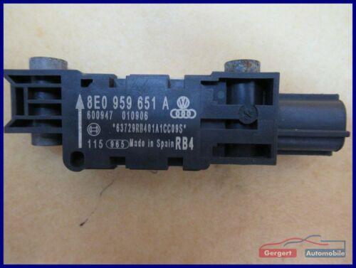 2.0 TDI 16V Crashsensor Aufprallsensor vorne 8E0959651A AUDI A4 AVANT 8ED, B7