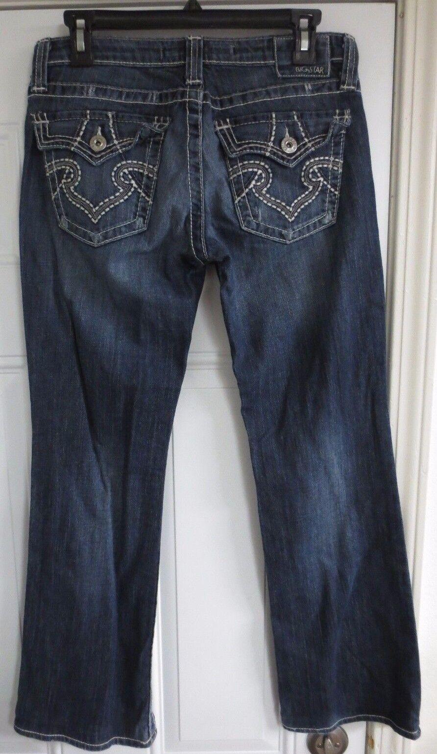 Big Star Remy Jeans Pants bluee Size 29 x 29 Cotton Stretch Low Rise Boot Cut